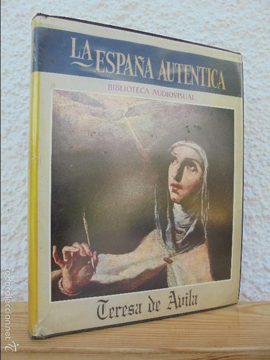 LA ESPAÑA AUTENTICA. BIBLIOTECA AUDIOVISUAL. TERESA DE AVILA. JOSE JIMENEZ LOZANO. 2 VHS. VER FOTOS. (Cine - Folletos de Mano - Documentales)