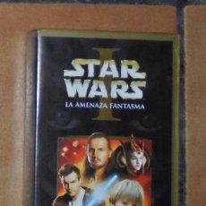 Cine: PELÍCULA VHS - STAR WARS I ( LA AMENAZA FANTASMA ). Lote 57123869