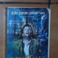 Cine: PELÍCULA VHS - LOS INMORTALES. Lote 57124665