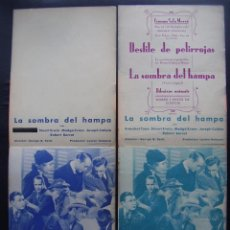 Cine: LA SOMBRA DEL HAMPA, FRANCHOT TONE, VARIANTES. Lote 57126978