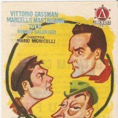 Cine: RUFUFÚ - VITTORIO GASSMAN, MARCELLO MASTROIANNI, TOTO - DIRECTOR MARIO MONICELLI. Lote 57139260