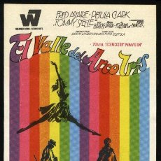 Cine: P-0862- EL VALLE DEL ARCO IRIS (FINIAN'S RAINBOW) FRED ASTAIRE - PETULA CLARK - TOMMY STEELE. Lote 262428030