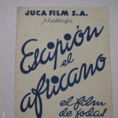 Cine: ESCIPION EL AFRICANO - CINE VICTORIA -VER FOTOS Y MEDIDAS -(V-5860). Lote 57161351