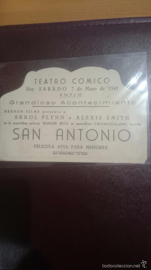 Cine: PROGRAMA TROQUELADO CON PUBLICIDAD SAN ANTONIO - Foto 2 - 57165576