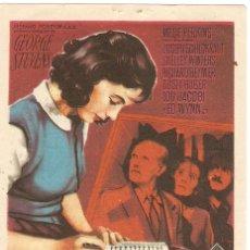 Cine: EL DIARIO DE ANA FRANK - MILLIE PERKINS, JOSEPH SCHILDKRAUT - DIRECTOR GEORGE STEVENS - SOLIGÓ. Lote 57179284