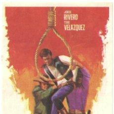 Cine: EL MEXICANO PROGRAMA SENCILLO JORGE RIVERO TERE VELAZQUEZ. Lote 57185491