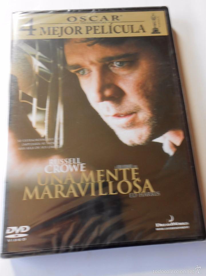UNA MENTE MARAVILLOSA (Cine - Folletos de Mano - Drama)
