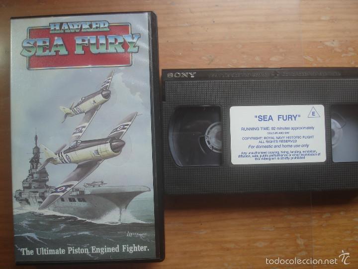 VHS HAWKER SEA FURY. THE ULTIMATE PISTON ENGINED FIGHTER.AVIACIÓN (Cine - Folletos de Mano - Documentales)