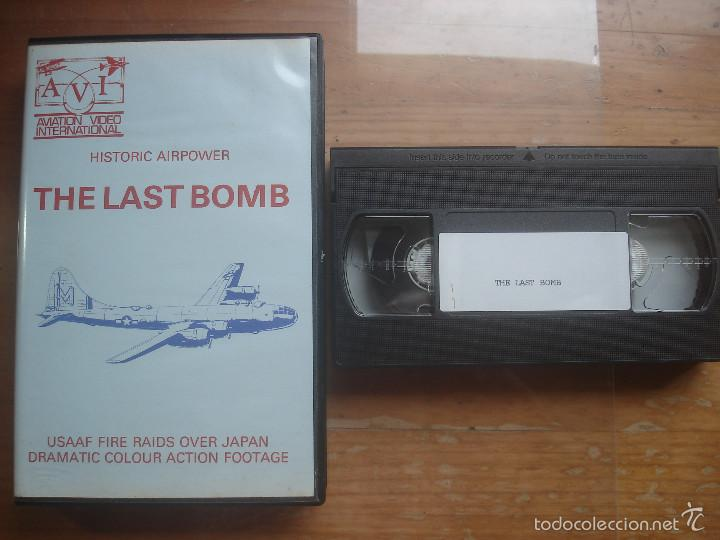 VHS THE LAST BOMB. AVIACIÓN (Cine - Folletos de Mano - Documentales)