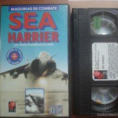 Folhetos de mão de filmes antigos de cinema: VHS SEA HARRIER. AVIACIÓN. Lote 57359376