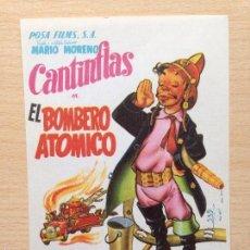 Cine: PROGRAMA DE MANO EL BOMBERO ATÓMICO (1952) - CANTINFLAS. Lote 57384683