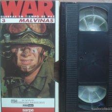 Cine: VHS MALVINAS. GUERRAS EN TIEMPO DE PAZ. Lote 57470102