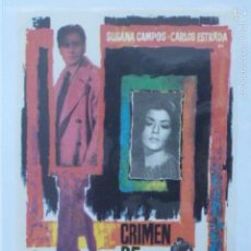 Cine: PROGRAMA DE CINE CRIMEN DE DOBLE FILO.. Lote 57478232
