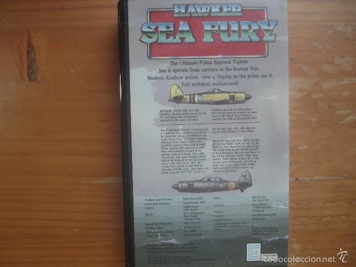 Cine: VHS Hawker Sea Fury. The ultimate piston engined fighter.Aviación - Foto 2 - 57304297