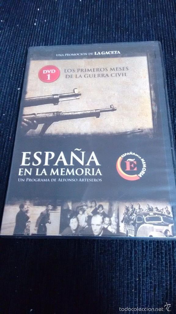 ESPAÑA EN LA MEMORIA N1 LOS PRIMEROS MESES DE LA GUERRA CIVIL (Cine - Folletos de Mano - Documentales)
