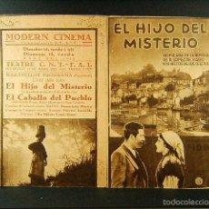 Cine: EL HIJO DEL MISTERIO-ALALA EN ESPAÑA-ADOLFO TROTZ-ANTOÑITA COLOME-MODERN-C.N.T.-A.I.T.-F.A.I.-1938.. Lote 57626160