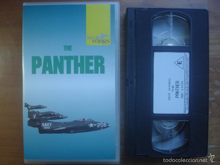 VHS THE PANTHER. AVIACIÓN (Cine - Folletos de Mano - Documentales)