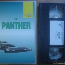 Cine: VHS THE PANTHER. AVIACIÓN. Lote 57680455