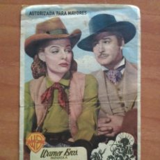 Cine: 1959 RIO DE PLATA - ERROL FLYNN - PUBLICIDAD. Lote 57693717