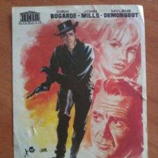 Cine: 1962 EL DEMONIO, LA CARNE Y EL PERDÓN - DIRK BOGARDE. Lote 57693874