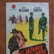Cine: 1956 EL ULTIMO BALUARTE - RAY MILLAND. Lote 57693950