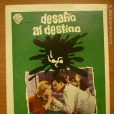 Cine: PROGRAMA DE CINE DESAFIO DEL DESTINO.. Lote 57817406