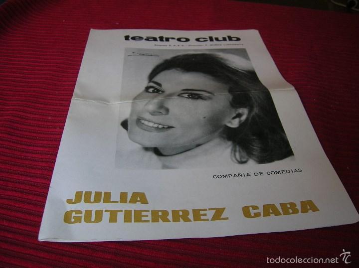 FOLLETO TEATRO CLUB.OLIVIA. (Cine - Folletos de Mano - Clásico Español)