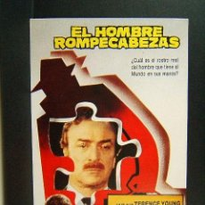 Cine: EL HOMBRE ROMPECABEZAS-TERENCE YOUNG-MICHAEL CAINE-LAURENCE OLIVIER-SUSAN GEORGE-IVEX FILMS-1989. . Lote 57889147