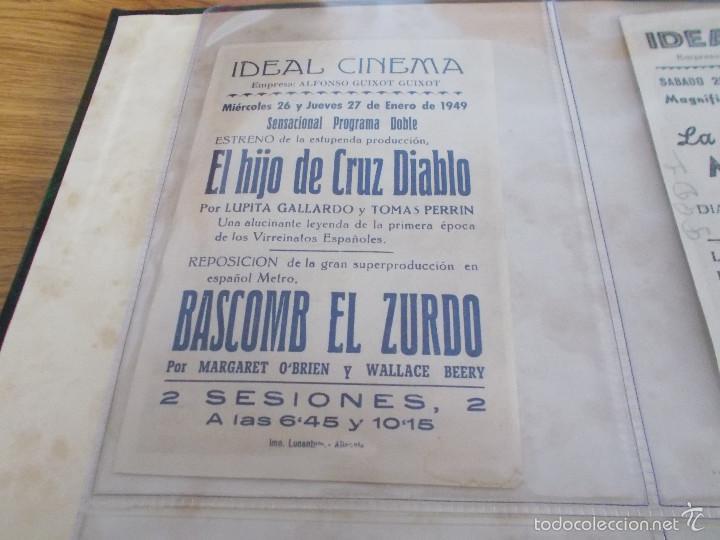 Cine: EL HIJO DE CRUZ DIABLO-VICENTE ORONA-LUPITA GALLARDO-TOMAS PERRIN- PUBLICIDAD CINE IDEAL ELDA - Foto 2 - 57917898