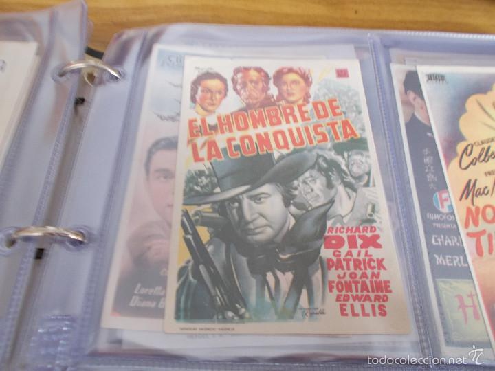 EL HOMBRE DE LA CONQUISTA G.NICHOLLS-RICHARD DIX-JOAN FONTAINE-PUBLICIDAD CINE IDEAL ELDA (Cine - Folletos de Mano - Westerns)