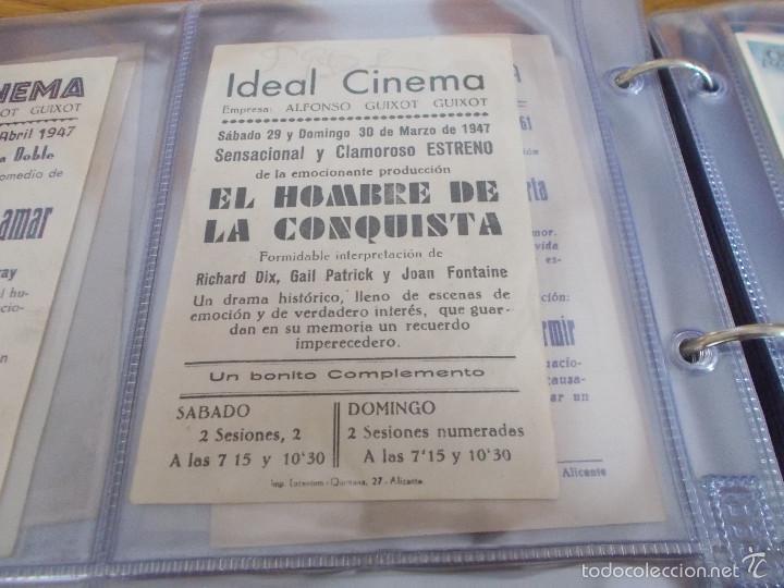 Cine: EL HOMBRE DE LA CONQUISTA G.NICHOLLS-RICHARD DIX-JOAN FONTAINE-PUBLICIDAD CINE IDEAL ELDA - Foto 2 - 57918525