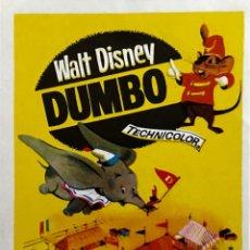 Cine: DUMBO-WALT DISNEY- SIN PUBLICIDAD. Lote 57930813