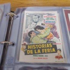 Cine: HISTORIAS DE LA FERIA MARIA ROSA SALGADO- DIRECTOR: ROVIRA BELETA MANOLO MORAN, .JANO-. GLORIA- ELDA. Lote 57935935