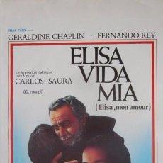 Cine: ELISA VIDA MIA - CARLOS SAURA. Lote 57960715