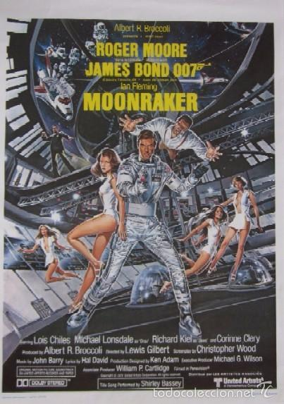 MOONRAKER - JAMES BOND 007 - ROGER MOORE (Cine - Folletos de Mano - Acción)