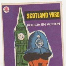 Cine: SCOTLAND YARD. POLICÍA EN ACCIÓN. SENCILLO DE ROSA FILMS. 'IMPECABLE!. Lote 58014749