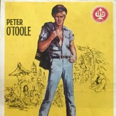 Cine: LORD JIM- PETER O'TOOLE-RICHARD BROOKS- PRINCIPAL CINEMA (SAN CUGAT DEL VALLÉS, BARCELONA). Lote 58092462
