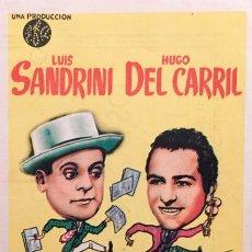 Cine: LOS DOS RIVALES- LUIS SANDRINI- HUGO DE CARRIL- CINE BORN-CAPITOL-HISPANIA DE PALMA DE MALLORCA. Lote 58095925