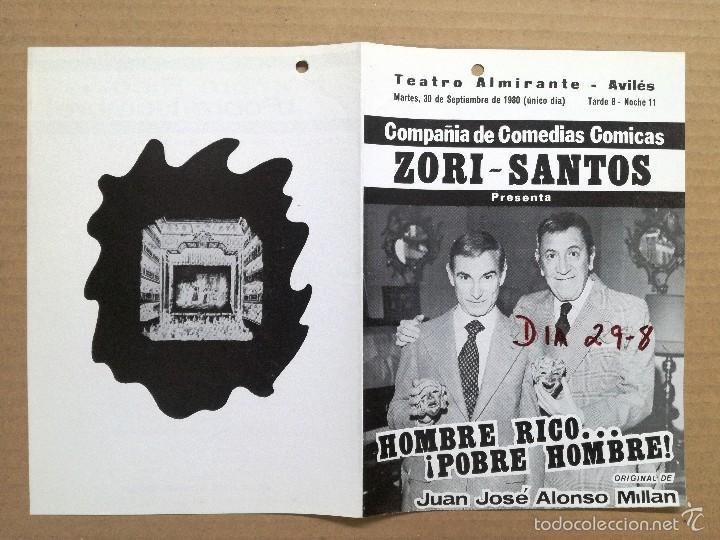 Cine: 12 FOLLETOS DE MANO DE TEATRO ESPAÑOLES,COMEDIA,DRAMA.. - Foto 6 - 58145223