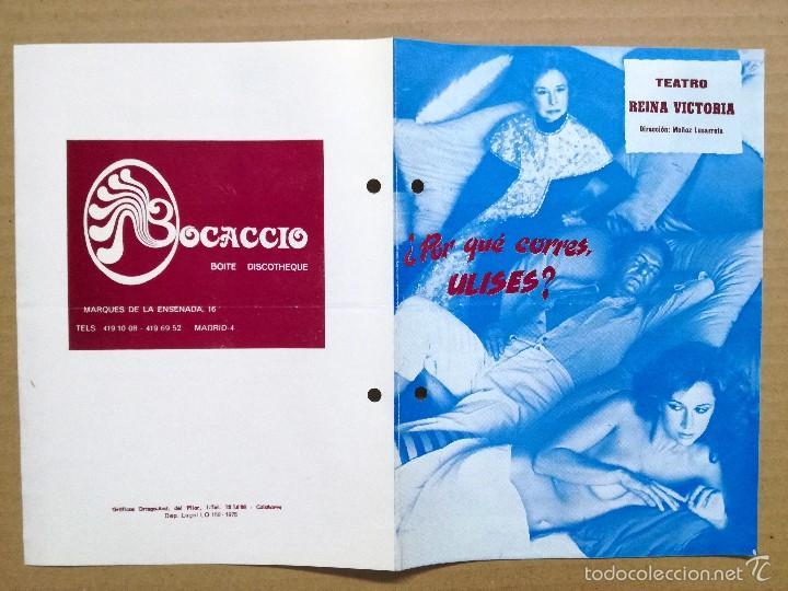 Cine: 12 FOLLETOS DE MANO DE TEATRO ESPAÑOLES,COMEDIA,DRAMA.. - Foto 7 - 58145223