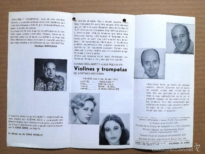Cine: 12 FOLLETOS DE MANO DE TEATRO ESPAÑOLES,COMEDIA,DRAMA.. - Foto 12 - 58145223