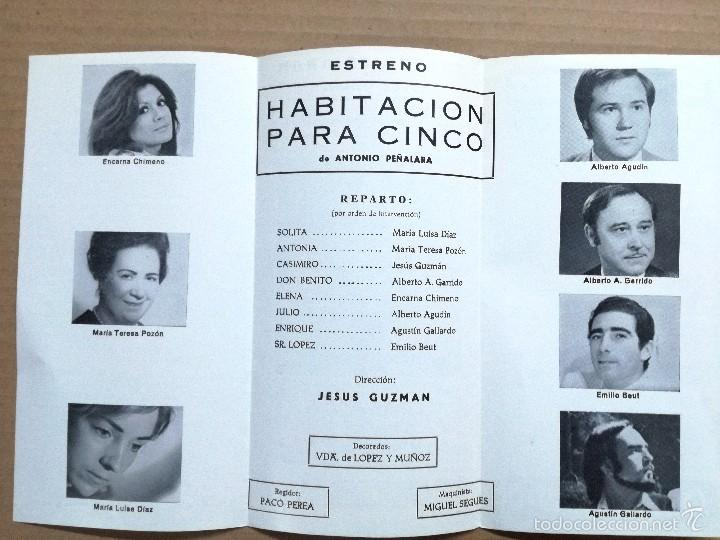 Cine: 12 FOLLETOS DE MANO DE TEATRO ESPAÑOLES,COMEDIA,DRAMA.. - Foto 14 - 58145223