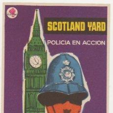 Cine: SCOTLAND YARD. POLICÍA EN ACCIÓN. SENCILLO DE ROSA FILMS.. Lote 58276146