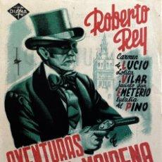 Cine: AVENTURAS DE DON JUAN DE MAIRENA-ROBERTO REY-DIRECTOR JOSE BUCHS-CINE FANTASIO-IMPECABLE. Lote 116079872
