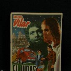 Cine: EL JUDAS DIR. IGNACIO F. IQUINO SIN CUÑO POSTERIOR ORIGINAL 15,3X11CMS. Lote 58407861
