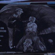 Cine: PROGRAMA DE CINE TARJETA AMORES EN HOLLYWOOD MARION DAVIS BING CROSBY SIN PUBLICIDAD. Lote 58437562