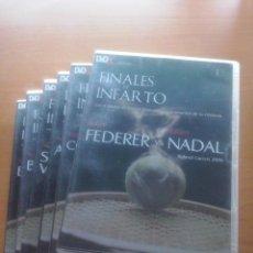 Folhetos de mão de filmes antigos de cinema: FINALES DE INFARTO, TENIS, 6 DVDS. Lote 58450691