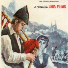 Cine: FOLLETO DE MANO, ASI ES ASTURIAS, JUAN ANTONIO CABEZAS.. Lote 58482927