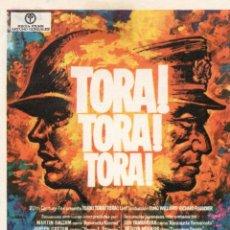 Flyers Publicitaires de films Anciens: TORA TORA TORA. Lote 58533422