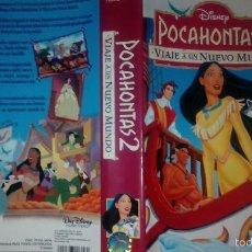 Cine: DISNEY POCAHONTAS 2 ANTIGUA CARATULA DE PELICULA VHS. Lote 58642208